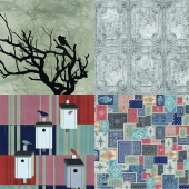 Wall&deco - Contemporary Wallpaper Pack 20