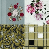 Wall&deco - Contemporary Wallpaper Pack 16