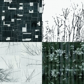 Wall&deco - Contemporary Wallpaper Pack 13