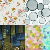 Wall&deco - Contemporary Wallpaper Pack 12