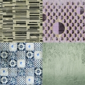 Wall&deco - Contemporary Wallpaper Pack 11