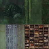 Wall&deco - Contemporary Wallpaper Pack 10