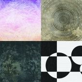 Wall&deco - Contemporary Wallpaper Pack 4