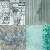 Wall&deco - Contemporary Wallpaper Pack 1