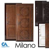 Entrance door Milano