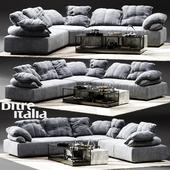 Ditre Italia Flick-Flack Corner Sofa