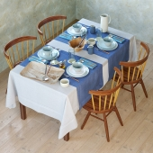 Serving Zara Home Artisanal Blue