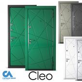 Cleo's front door