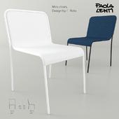 Paola Lenti. Mira chairs.