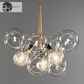 Подвесной светоч Romatti Bubble glass chandelier by PELLE
