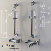 Bath and shower faucet Cezares Liberty F-VD-01