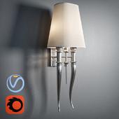 Artelore CASIO NIQUEL WALL LAMP L