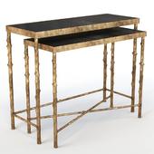 Mis en Demeure CONSOLE SOLOGNE GIGOGNE Table Set of 2