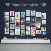 Summer frame collection
