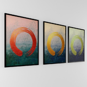Circle Paintings Artwork collection