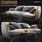 Sofa natuzzi Don Giovanni 2906