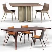 Langham Chair, Spitalfields Table, Grand Table