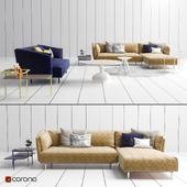 OBI Sofa, tables, decor