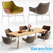 Varaschin SUMMERSET Chair and LINK Table
