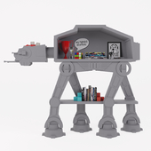 Star Wars AT-AT Bookcase Pottery barn
