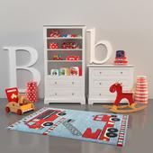 Decoration set for boy-room II