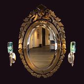 "Venetian mirror ""Benedetto"""