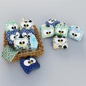 "Soft toys ""Owls"""