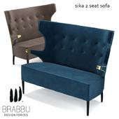 2 seater sofa sika - factory brabbu / sika 2 seat sofa - factory brabbu