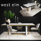 Table and chair West Elm Collections
