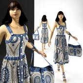Female mannequin in a sarafan.