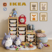Furniture and toys IKEA, decor for a children's room set 1