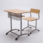 """Chair and student's desk """"Extra"""""""