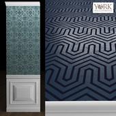 York Ashford Geometrics Wallpaper