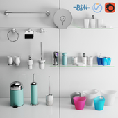 BISK bathroom accessories sets - STAMP / CITY / GRENADA / GECO