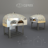 Pizza oven for firewood AsTerm D120VK