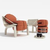 Dango armchair