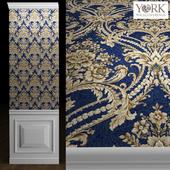 York Wallcoverings DAMASK Wallpaper