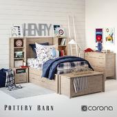 Set for children's Plaid bedroom