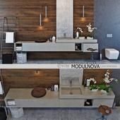 Set of bathroom furniture MODULNOVA
