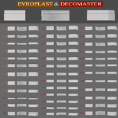 Baseboard Evroplast and Decomaster