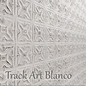Tile Track Art Blanco