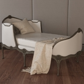 ELOQUENCE Louis Chaise In Antique White