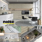 Kitchen NOLTE Artwood (vray GGX, corona PBR)