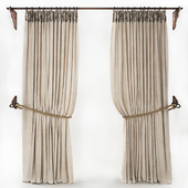 CURTAIN WITH ROPE 2