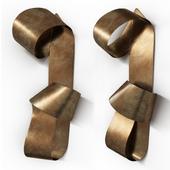 Brass artwork UNDULATING by Martha Sturdy