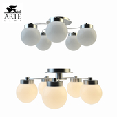Chandelier Arte Lamp Cloud A8170PL-5SS