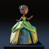 Princess Tiana doll