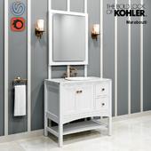 """Мебель в ванную: Marabou 36"""" KOHLER"""