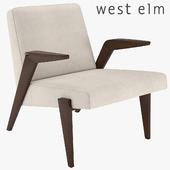 West Elm Gisele Mid-Century Show Wood