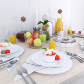 Set for table setting from Sagaform